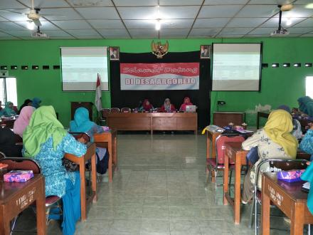Pertemuan Rutin Kader Yandu Desa Argorejo