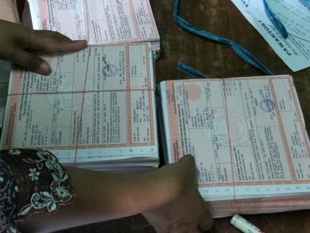 SPPT PBB desa Argorejo  siap diterimakan