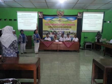 Verifikasi Desa Mandiri Pangan Tingkat DIY