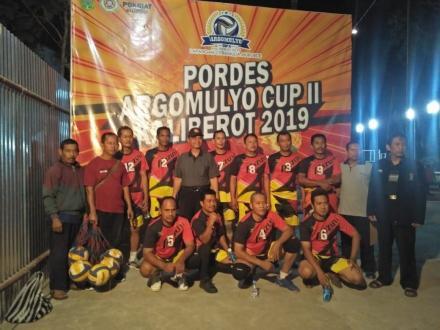 Pamong Desa Argorejo dalam Argomulyo Cup II