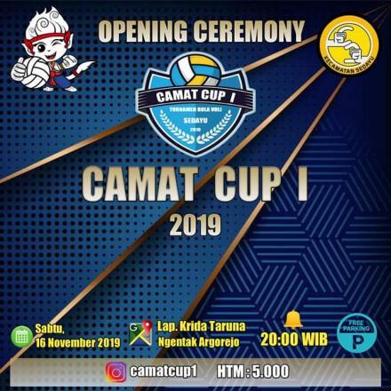 Camat Cup 1 di Argorejo