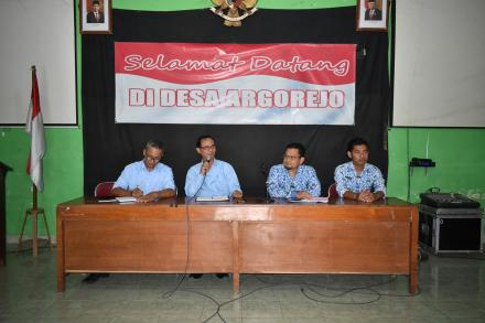 Desa Argorejo sosialisasikan program WKSBM kepada masyarakat